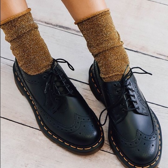paras hinta halvin lenkkitossut Vintage Doc Martens England Wingtip Brogue Shoes